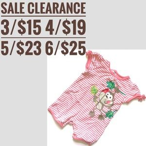 Jumping Beans Onesie sale clearance 3 for 15